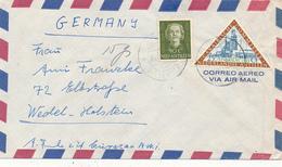 NEDERLANDSE ANTILLEN  - 1955  , Brief Nach Wedel - Antillen