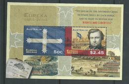 Australia 2004 Eureka Stockade Miniature Sheet MNH - Usati