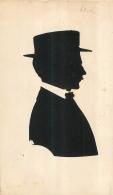 HOMME AU CHAPEAU SILHOUETTE - Silhouettes