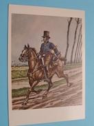 Koerier 1840 Courrier ( Brussel Postmuseum ) James Thiriar / Anno 19?? ( Zie/voir Foto Voor Details ) !! - Poste & Facteurs