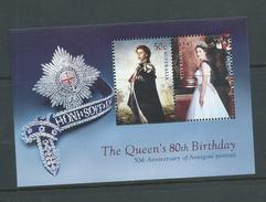 Australia 2006 QEII 80th Birthday Miniature Sheet MNH - Usati