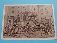 De Hallepoort Te Brussel 1825 ( Brussel Postmuseum ) James Thiriar / Anno 19?? ( Zie/voir Foto Voor Details ) !! - Poste & Facteurs