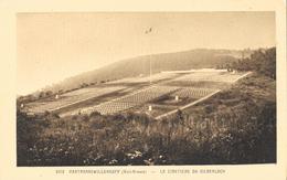 Hartmannswillerkopf (Vieil-Armand) - Le Cimetière Du Silberloch - Edition La Cigogne - Carte Non Circulée - Oorlogsbegraafplaatsen