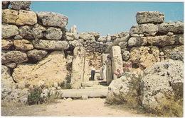 Gozo - Ggantija Temples - Giant's Tower - (Malta) - Malta
