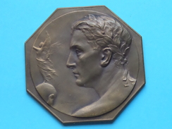 Trofee Turn Kampioenschap ( K.B.T. Noordergouw ) 1946 ( 5e Plaats M. Moëst ) (102 Gram  +/- 7 Cm./ Koperkleur ) - Gymnastics