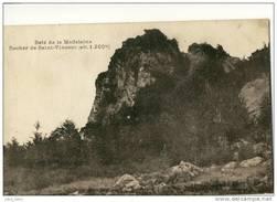 Bois De La Madeleine .  Rocher Saint Vincent . - France