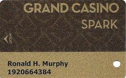 Grand Casino Resort - Shawnee, OK - Slot Card - Casino Cards