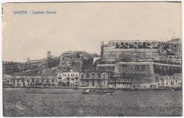 Malta - Custom House - (& Steamer)  - (Malta) - Malta