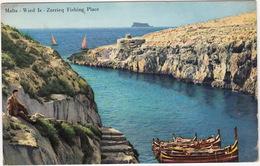 Wied Iz - Zurrieq Fishing Place  - (Malta) - Malta