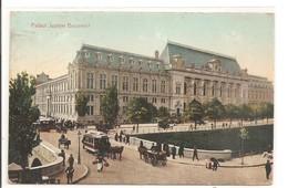 ROUMANIE - BUCURESCI - BUCAREST - Palatul Justitiei - 1906 - Roumanie