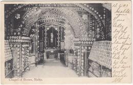 Chapel Of Bones - (Published By S.I. Cassar, Phot.) - (1905)  - (Malta) - Malta