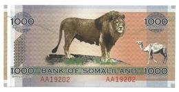 Somaliland - 1.000 Shillings 2006, - Somalia