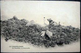 DOM TOM  GUADELOUPE LA SOUFRIERE LA GRENOUILLE VOLCAN VULCANOLOGIE   CARTE   PRECURSEUR 1900 - Non Classés