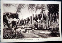 DOM TOM NOUVELLE CALEDONIE VILLAGE AUX ILES WALLIS - Nouvelle Calédonie