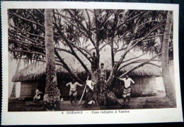DOM TOM OCEANIE CASE INDIGENE A TANTIRA - Postkaarten