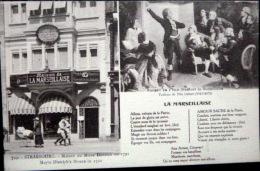 67  STRASBOURG MAISON DU MAIRE DIETRICH EN 1792 ROUGET DE L'ISLE ALLEGORIE DE LA MARSEILLAISE - Strasbourg