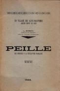 1933 - L. Barbera - Peille Des Origines à La Révolution Française - NB Planches HT - FRANCO DE PORT - Côte D'Azur