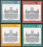 # ARGENTINE / ARGENTINA: Mi Paket #4-7 Parcel Post - Grandes Clientes (1999) MNH Self-adhesive / Neufs *** CV 150 EUR - Argentinien