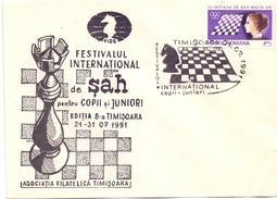 ROMANIA SCACCHI TIMISOARA (GEN170022) - Scacchi