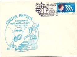 ROMANIA SCACCHI CORINA PEPTAN 1991 (GEN170021) - Scacchi