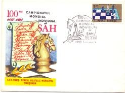 ROMANIA SCACCHI TIMISOARA  MONDIAL 1986 (GEN170023) - Scacchi
