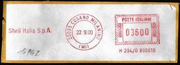 "Italia/Italie/Italy: Ema, Meter, ""SHELL ITALIA"""