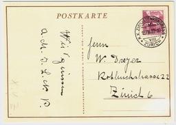 1937, Zürich-Zionistenkongreß, Judaica , #7036 - Poststempel