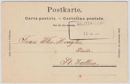 Schweiz, 1914, Aushilfs-Stp.  , #7038 - Poststempel