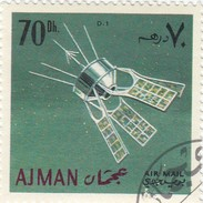 Ajman - 1 Stamp Used  Spazio - Space