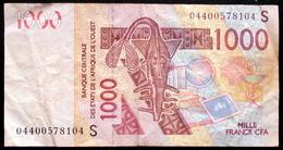 Afrique De L'ouest - 1000 Francs 2003 1 Billet - Banconote