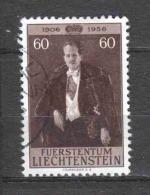 Liechtenstein 1956 Mi 351 Canceled