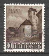 Liechtenstein 1958 Mi 376 Canceled (1)