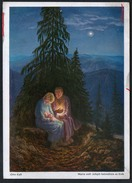 9694 - Alte Glückwunschkarte - Weihnachten - Künstlerkarte - Wiechmann - Otto Käst - N. Gel - Weihnachten