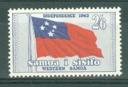 Samoa: 1962   Independence   SG247    2/6d   MH - Samoa
