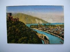 Allemagne , Lahnstein , Burg Lahneck Mit Niederlahnftein - Lahnstein