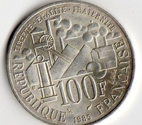 OIECE DE 100 FRANCS DE 1985 EMILE ZOLA - Francia