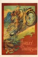 ADVERT - HARLEY DAVIDSON - MUMBLES RAILWAY MRP/185 M303 - Werbepostkarten