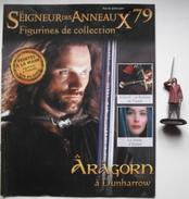 Figurine Le Seigneur Des Anneaux N°79 / Aragorn à Dunharrow - Lord Of The Rings