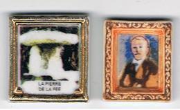 Lot 2 Fèves Tableaux Gaston Doumergue & La Pierre De La Fée - History