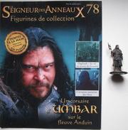 Figurine Le Seigneur Des Anneaux N°78 / Un Corsaire D'umbar Sur Le Fleuve Anduin - Lord Of The Rings