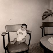 Photo Originale Mobilier - Fauteuil En Skaï & Métal 1960 - - Objetos