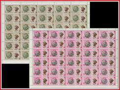 Burundi 0041/42 Feuille / Sheet De 40** / MNH - Burundi