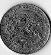 Pièce De Un Sol En Argent Du Pérou De 1869 - Perú