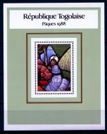 Togo, 1988, Easter, Painting, Art, MNH, Michel Block 305 - Togo (1960-...)