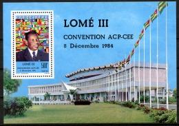Togo, 1984, Lomé Convention, Flags, MNH, Michel Block 258 - Togo (1960-...)