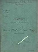 Livre Entretien Locomotives à Vapeur Tenders,  Ligne Chemin De Fer De Paris - Orléans  1896 - Chemin De Fer & Tramway