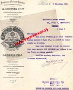 75- PARIS- A. LACROIX- MANUFACTURE COULEURS VITRIFIABLES-CERAMIQUE VERRE METAUX EMAILLES- 172 AV. PARMENTIER -1935 - France