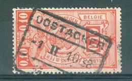"""BELGIE - OBP Nr TR 136 - Cachet  """"OOSTACKER"""" - (ref. AD-9617) - Chemins De Fer"""
