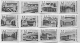 MATCHBOX LABELS RUSSIA CCCP URSS 1960's REPUBLIC OF GEORGIA TBILISI SUBWAY STATIONS - Old Paper