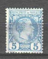 Monaco 1885 Mi 3 MNH (READ) - Monaco